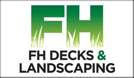 fh decks and landscaping logo